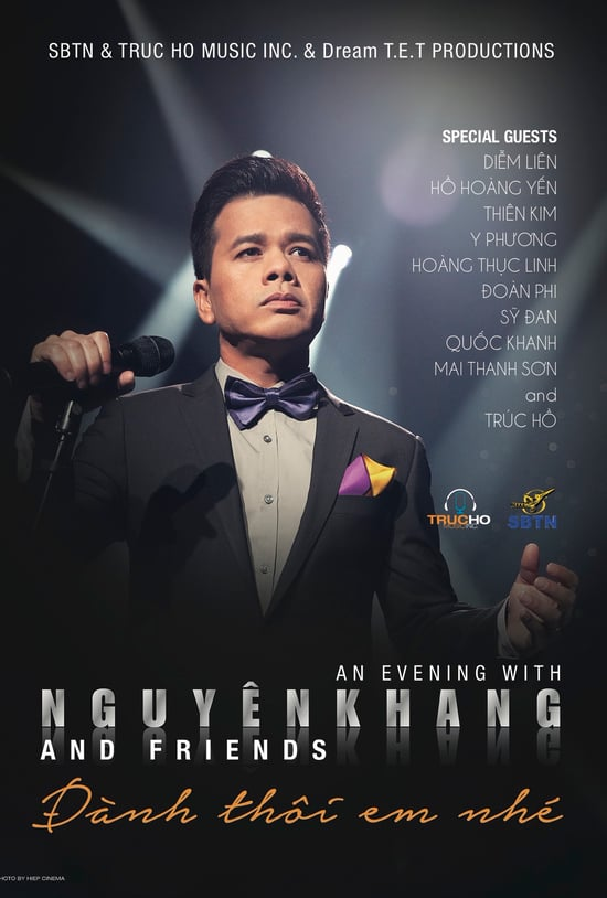 SBTN – An Evening with Nguyen Khang & Friends – Đành Thôi Em Nhé